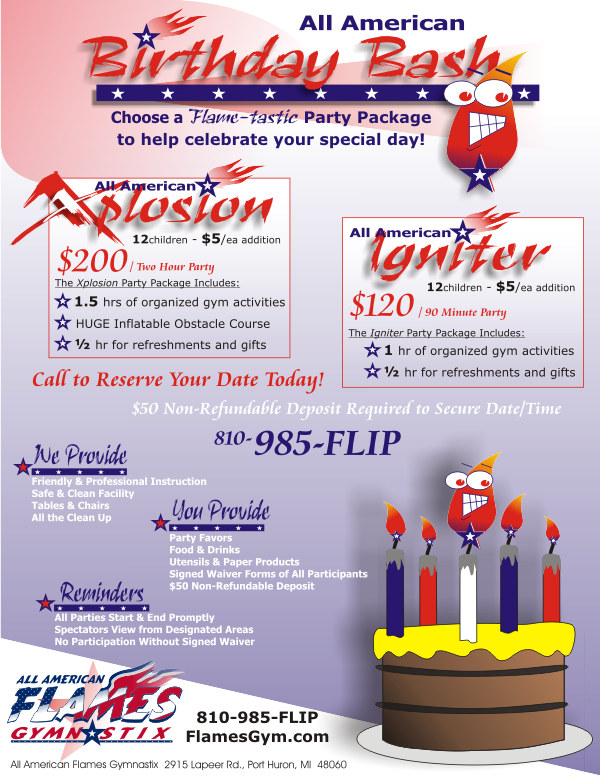 All American Birthday Bash - Xplosion / Igniter